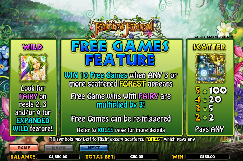 Magic Fairies Slots Review & Free Online Demo Game